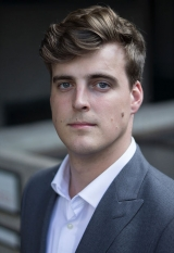 British Baritone Andrew Hamilton is in his first year on the Guildhall School of Music and Drama's Opera School programme, studying with John Evans. Previously he completed the Masters of Music course, also at the Guildhall School.  He also completed an undergraduate degree in music at the University of Southampton, where he was a choral scholar, studying with Ian Caddy and Keith Davis. Recent performances and highlights include the role of Diener in Capriccio as a 2018 Alvarez Young Artist at Garsington Opera, where he also appeared as chorus in Die Zauberflöte. In the summer of 2017 Andrew performed the roles of Second Bad Robber and Bridegroom/Husband/Father (Cover), The Vanishing Bridegroom (British Youth Opera). Also in 2017 he performed Moon Man 1, A Trip to the Moon and Semi Chorus, The Damnation of Faust both with Sir Simon Rattle and the LSO. Other operatic and concert experience includes, Malatesta - Don Pasquale, Marcello - La Boheme, (GSMD postgraduate opera scenes), Swansong, a project based around Schubert's Schwanengesang with Iain Burnside, a performance of Schubert Partsongs with Graham Johnson at the Wigmore Hall, Lieder eines fahrenden Gesellen with Southampton University Sinfonietta and Five Mystical Songs with Letchworth Chorale. He has appeared in masterclasses with Mary King (Southampton University), Jonathan Lemalu (Guildhall School) and a masterclass on Britten's War Requiem with Adrian Thompson (Guildhall School). Upcoming roles and projects include Marcello (La Boheme), Le Mari (Les Mamalles de Tirésias) and The Protector (Written on Skin) - all Guildhall School Opera School scenes. He is appearing as Starveling in Britten's A Midsummer Night's Dream, also at the Guildhall School.Andrew was the winner of the 2017 English Song prize at the Guildhall School. He is a Horner's Becker Scholar and is generously supported by the Worshipful Company of Horners.